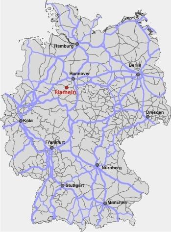 Bahn Streckennetz